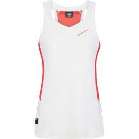 La Sportiva Joy Tanktop Dames, wit/rood